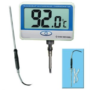 Digi-Sense Traceable® Remote Probe Digital Thermometer with Calibration