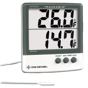 Indoor/Outdoor Digital Thermometer-digi-sense-9000075