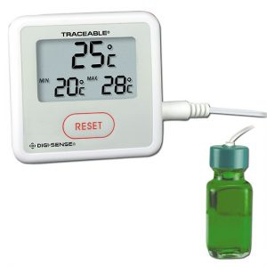 Thermometer with Calibration, Celsius, Bottle Probe