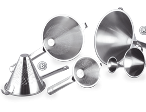 Funnels and Strainers
